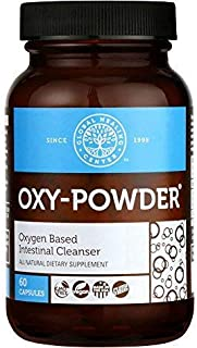 Global Healing Center Oxy-Powder Oxygen Based Safe and Natural Colon Cleanser and Relief from Occasional Constipation (60 ...