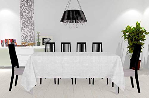 Soleil d'ocre Galaxy Nappe, Polyester, Blanc, 150 x 300 cm