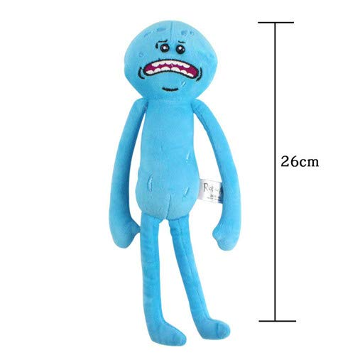 N/K Plüschtier Rick Sanchez Morty Smith Meeseeks Happy Sad Scientist Gefüllte Puppe I×1PCS