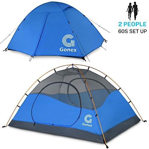 Gonex Tienda de Campaña 2 Personas, Tienda de Camping
