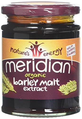 Meridian Organic Barley Malt Extract 370 g (Pack of 6)