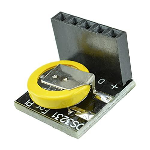 DS3231 Módulo de memoria de módulo de reloj RTC de precisión negro con batería para Raspberry Pi 3.3V 5V DIY