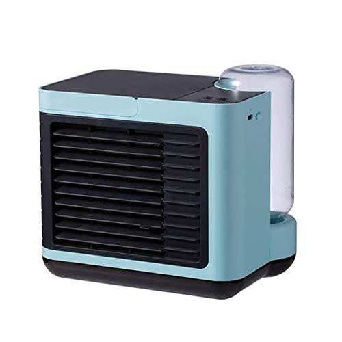 LanTianX Tragbarer Mini-LuftküHler, Luftbefeuchter FüR Negative Ionen, Wiederaufladbarer USB-Desktop-LüFter, Klimaanlage