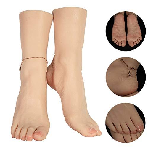 Künstliche Füße Modell Eingebaute Knochen Design Sichtbare Blutgefäße Silikon Weibliche Schaufensterpuppe Fuß - Für Sandale Schuh Socken Display Fotografie Requisiten