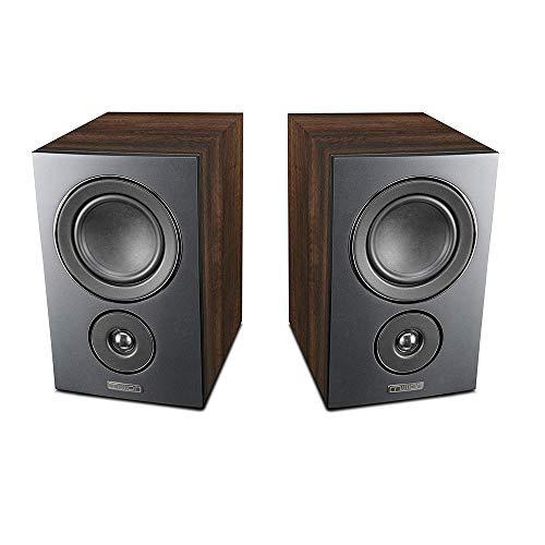 Mission LX Series Bookshelf - Altavoces Hi-Fi HD estéreo Surround LX-2 Furniture...