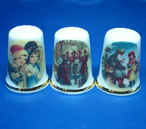 Birchcroft Coleccionable de porcelana china – Juego de tre