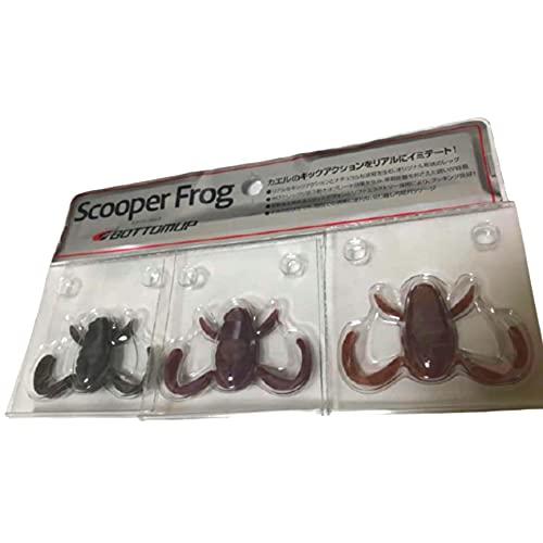 ボトムアップ バスルアー スクーパーフロッグ(Scooper Frog) ミミペッパー
