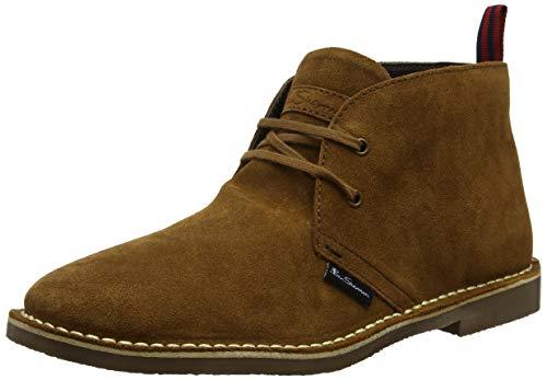 Ben Sherman Hunt, Desert Boots Homme, Marron Tobacco Daim 019, 42 EU