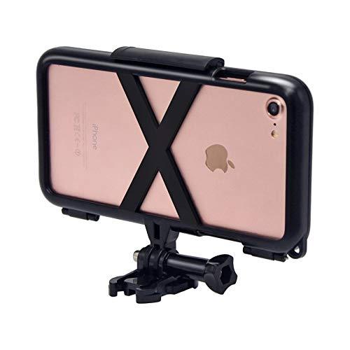Xyamzhnn La Caja del Teléfono For El iPhone 8 Y 7 Y 6 Esponja Pad Deportes Protectora Caso Cubierta Trasera PC Dropproof Absorción De Choque con Las Partes St