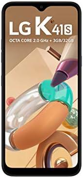 """Smartphone LG K41S 32GB, RAM de 3GB, Tela de 6,5"""" V- Notch, Câmera Quádrupla e Processador Octa-Core 2.0, Titanium"""