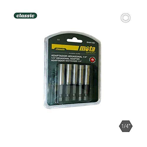 Lot de 5 adaptateurs hexagonaux magnétiques 1-4 10 x 60 5 P. BAM1060