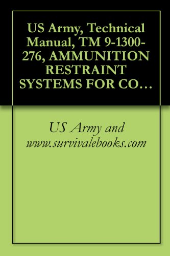 US Army, Technical Manual, TM 9-1300-276, AMMUNITION RESTRAINT SYSTEMS FOR COMMERCIAL AND MILITARY INTERMODAL CONTAINERS, (ASSEMBLY, INSTALLATION, REMOVAL AND OPERATION), 1981 (English Edition)