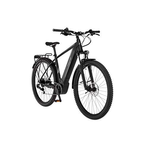 FISCHER E-Bike ATB Terra 5.0i, Elektrofahrrad, graphitschwarz matt, 29 Zoll, RH 51 cm, Brose Drive C Mittelmotor 50 Nm, 36 V Akku im Rahmen