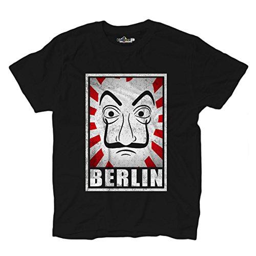 KiarenzaFD Camiseta Serie de televisión Máscara Berlin Cult...