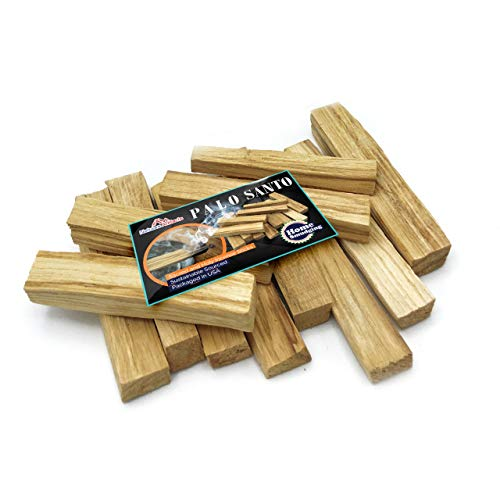 Palo Santo Smudge Sticks, Wild Harvested & Sustainably Sourced, Premium Quality Authentic Holy Wood, Incense Sticks, Cleansing, Fragrance, Meditation, Smudging Rituals, Packaged in the USA (12)
