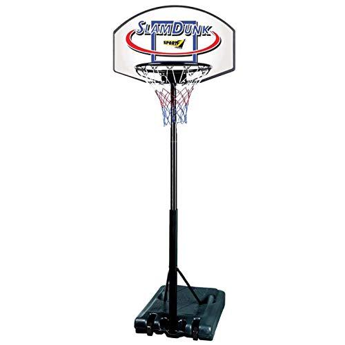 Palm Canestro Basket Esterno con Base canestro regolamentare Altezza Regolabile da Camera Bambini Regolabile 90x60 cm Basket Bambini Basket da Muro