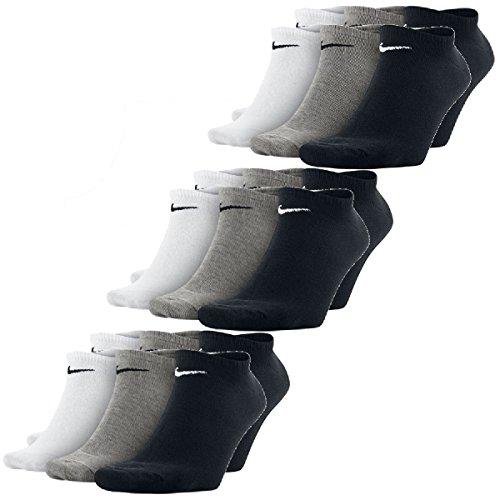 Nike Sneaker Socken No-Show mehrfarbig 9er Pack SX2554-901 M 34-38 FBA