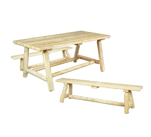Hot Sale Cedarlooks 020021B Farmers Dining Table and Bench Set