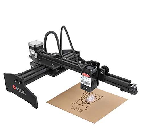 Ortur Laser Master 180 Graveur laser de bureau Machine de gravure laser Carte mère 32 bits Logiciel de contrôle LaserGRBL Facile à installer (20W)