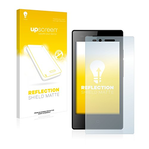upscreen Entspiegelungs-Schutzfolie kompatibel mit Siswoo A4+ Chocolate – Anti-Reflex Bildschirmschutz-Folie Matt