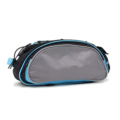 Buy Bargain JUMERY-Multi-Pocket Bicycle Panniers, 13L Reflective Rear Seat Bag Pannier MTB Bicycle T...