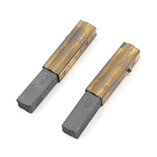 "Karcy Carbon Motor Brushes 2.7x0.4x0.4"" Vacuum Motor Carbon Brush Pack of 2"