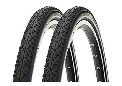 P4B | 2X 28 Zoll PANNENSCHUTZ - Reifen für Ihr Fahrrad | Weniger Pannen | Mehr Spaß am Fahren | 28 x 1.60 | 42-622 | Mit Reflexstreifen | Premiumfahrradreifen | Fahrradreifen | Fahrradmantel