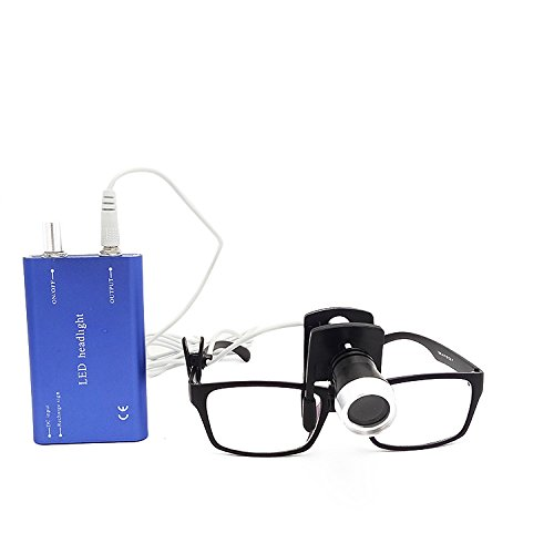 SoHome Surgical Headlamps Convenient Clip Type LED Headlight Suitable for All Medical Loupes Blue
