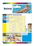 Bestway - 10 Super Patchs de réparation, rustines matelas, bouées, piscines, spas gonflables -...