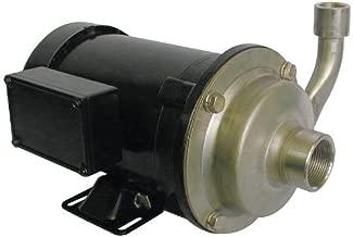 DAYTON 5WXT3 Pump, Centrifugal, SS, 3/4 HP, 3 PH