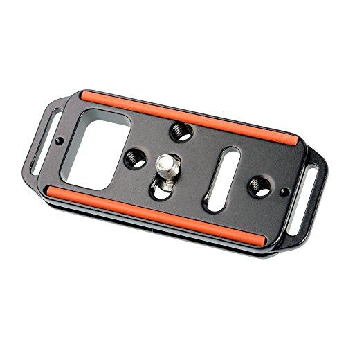 PX3 ProMediaGear Arca-Swiss Typ-Universalplatte, 7,6 cm lang, Kamera oder Objektivplatte