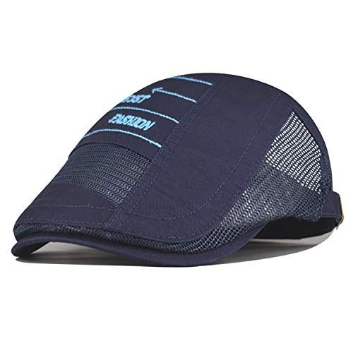 wtnhz Artículos de Moda Gorra de Estilo británico Boina Cruzada Parasol Transpirable Ajustable Sombrero mujerRegalo de Vacaciones