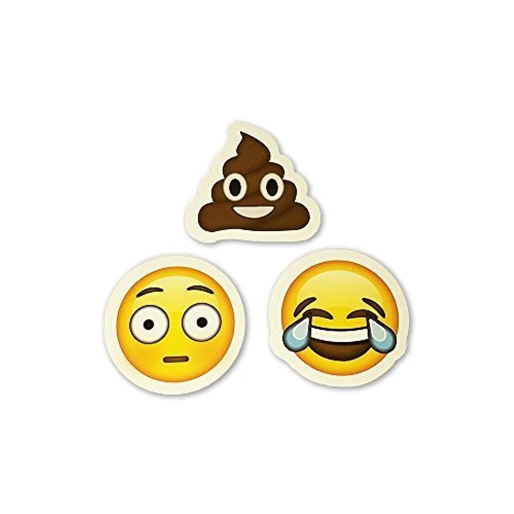I EM JI 15 Big Emoji Stickers | Each Over 2