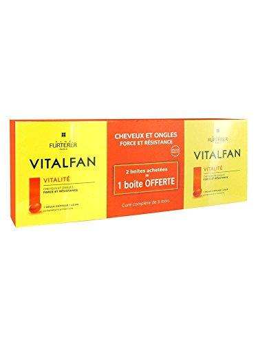 Rene Furterer Vitalfan capsules vitalité lot de 3 boites