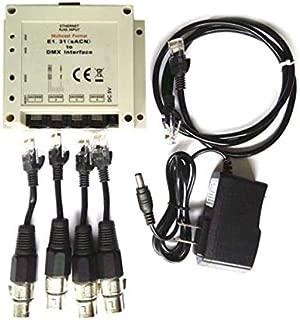 Compatible for Chamsys Magicq E1.31 (csn) DMX / Bridge Interface 4 Dmx512 Output Universes to 2048 DMX Channels