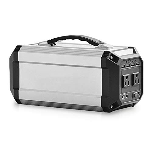 JHKJ Portable Power Station,270Wh/300W Lithium-Ion Battery with AC Outlet for Home Outdoor Camping Adventure Travel Fishing Emergency Backup Power Supply,220V