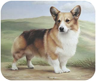Corgi On Porch Dog Dog Dog Puppy Mouse Pad MousePad by Fiddler's Elbow B0141NIVG6  Starker Wert 98c089