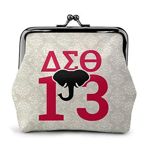 Delta Sigma Theta Coin Purses, Handbags, Leather Coin Purses