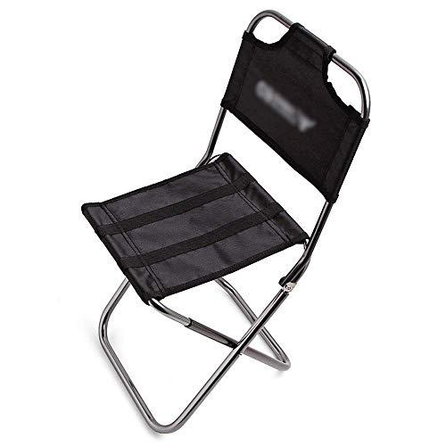 CNDY Klapptisch Campingtisch Aufbewahrungstasche Rucksack Wandern Mini Outdoor Klappstuhl Ultraleicht Wandern Angeln Camping Stuhl Tragbarer Sitz Hocker