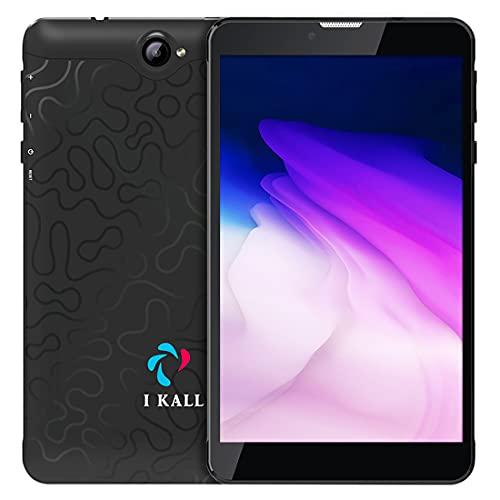 I KALL N5 4G Calling Tablet (7 Inch, 2GB Ram, 16GB Storage, Android 9.0, Dual Sim) (Black)