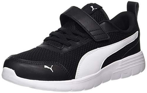 Puma Unisex Baby Flex Renew Ac Ps Sneaker, Schwarz Black White 02, 29eu