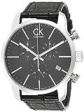 Calvin Klein Orologio da Uomo Cronografo al Quarzo con Cinturino in Pelle – K2G271C3