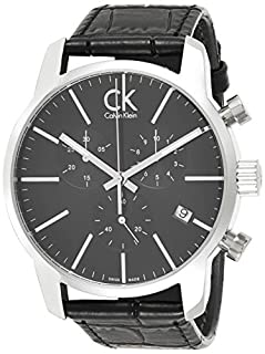 Calvin Klein Orologio da Uomo Cronografo al Quarzo con Cinturino in Pelle – K2G271C3 (B00EY7I5XE) | Amazon price tracker / tracking, Amazon price history charts, Amazon price watches, Amazon price drop alerts