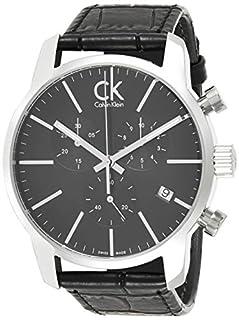 Calvin Klein Montre Homme Chronographe Quartz avec Bracelet en Cuir – K2G271C3 (B00EY7I5XE) | Amazon price tracker / tracking, Amazon price history charts, Amazon price watches, Amazon price drop alerts