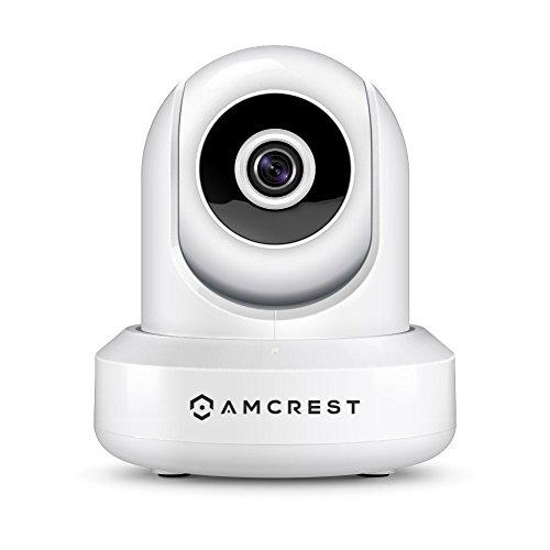 Price comparison product image Amcrest IP2M-841 ProHD 1080P (1920TVL) Wireless WiFi IP Camera,  White (Renewed)