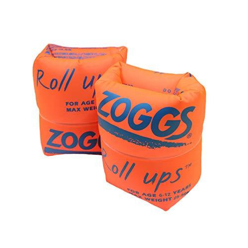 Zoggs Kinder Schwimmflügel Roll Ups, Orange, 6-12 Jahre