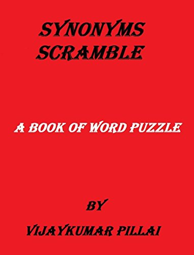 SYNONYMS SCRAMBLE: A BOOK OF WORD PUZZLE (English Edition)