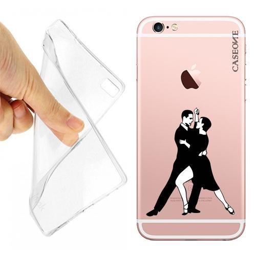 Custodia Cover Case Tango Ballo per iPhone 6 Trasparente 1