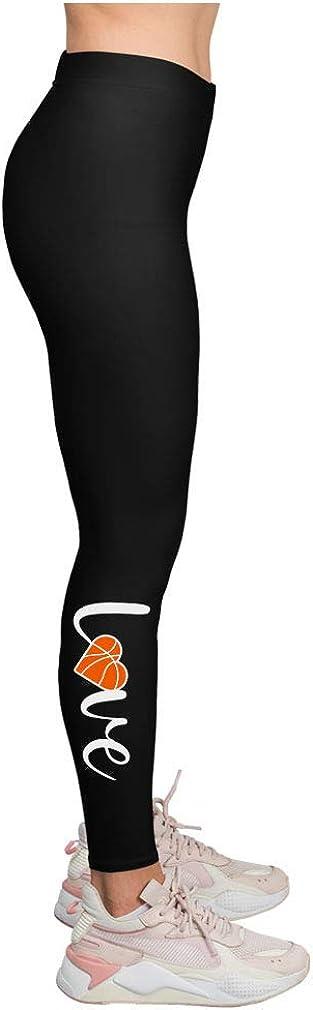 Basketball Leggings for Women Teen Girls Gift for Basketball Fans Sport Leggings