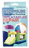 Stormsure Inflatable Repair Kit Waterproof Patches and Adhesive for Vinyl and Nylon, Clear